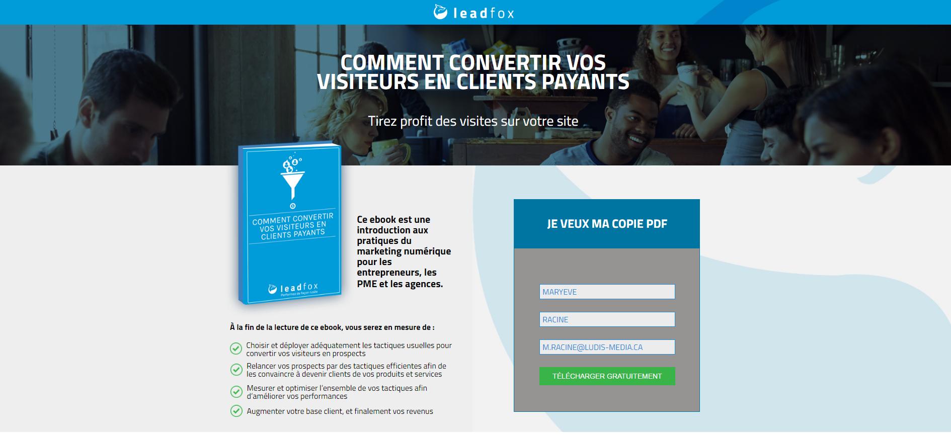 convertir-landing-page-ebook-leadfox