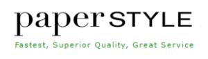 paper style logo