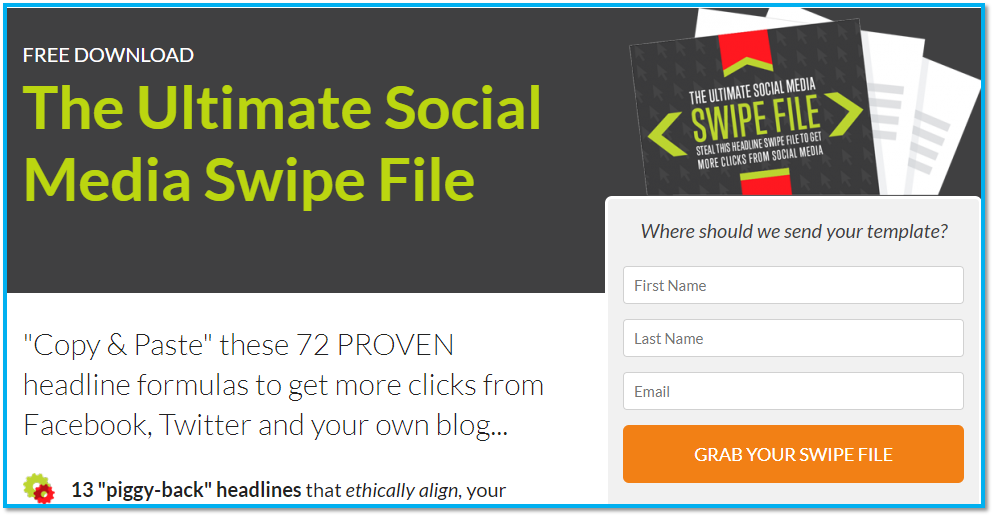 16 - Le swipe file